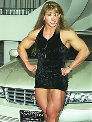 Lisa Bavington incredible muscle shots