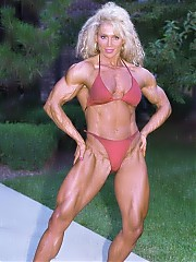 Melissa Coates chiseled physique and awesome facial beauty