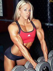 Mindy OBrien is one of the most leanly defined fitness women ever and her traditional beauty is obvious. If she ever tires of fitness, she could easily be a top bodybuilder.