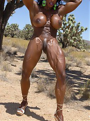 Naked black female athletes