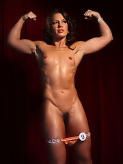 Inari Vachs - Pornstar on Stage. Pornstar Inari Vachs wanted to try her hand at posing on stage. Everything started out grea, Inari looked amazing. Competition level abs, glutes, legs, and biceps had us all gazing in wonder. Of course, Inari couldn't stop there - she is a pornstar after all. She got a little carried away and began taking her clothes off and playing with her pussy. We just went with it.