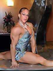 Women's bodybuilding and fitness.