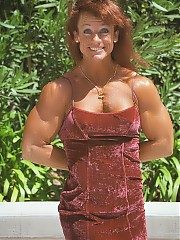 Virgina Brady after 20 years has developed fearsome and power-laden physique