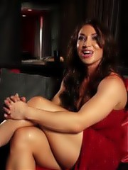 Brandi Mae talks about her muscles, the food she eats, masturbation and sex in her interview video.