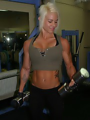 All about sex with fit and strong women who love to train with hard cocks