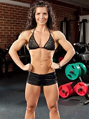 Female bodybuilders, muscular women. Free