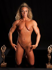 Beautiful NPC female bodybuilder Leann George