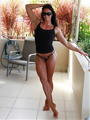 Female bodybuilders, fitness babes, naked muscular women